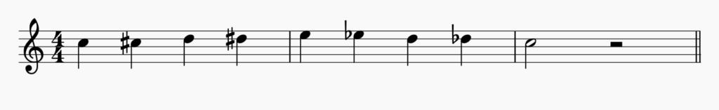 フーガの演奏のための基本練習