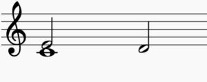 バッハシンフォニア練習方法譜例1