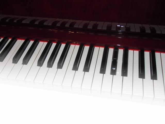 合唱の伴奏形は小さめに弾く