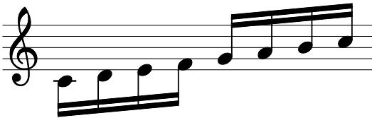 バッハシンフォニア練習方法譜例4