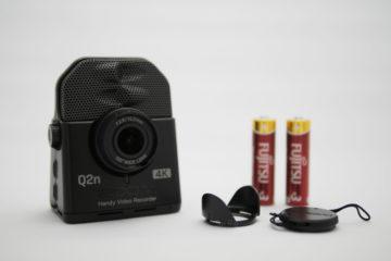 ZOOM Q2n-4K本体と同梱品